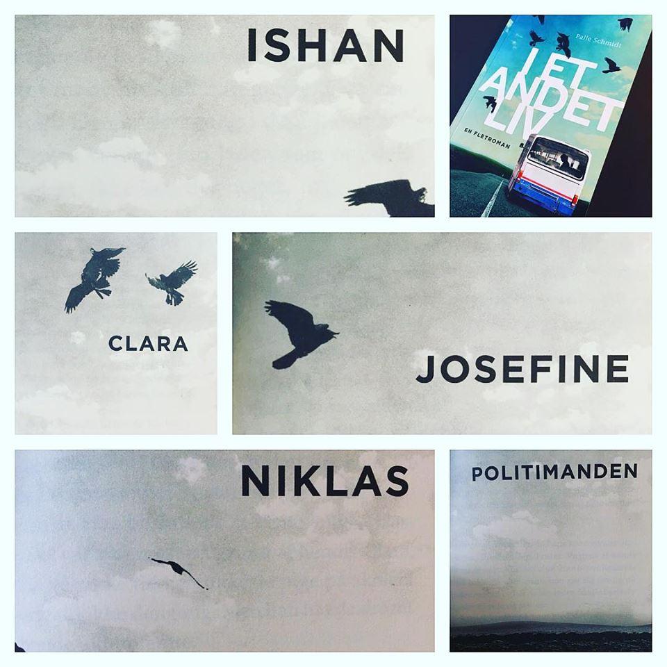 Fem stemmer flettes sammen i romanen I et andet liv.